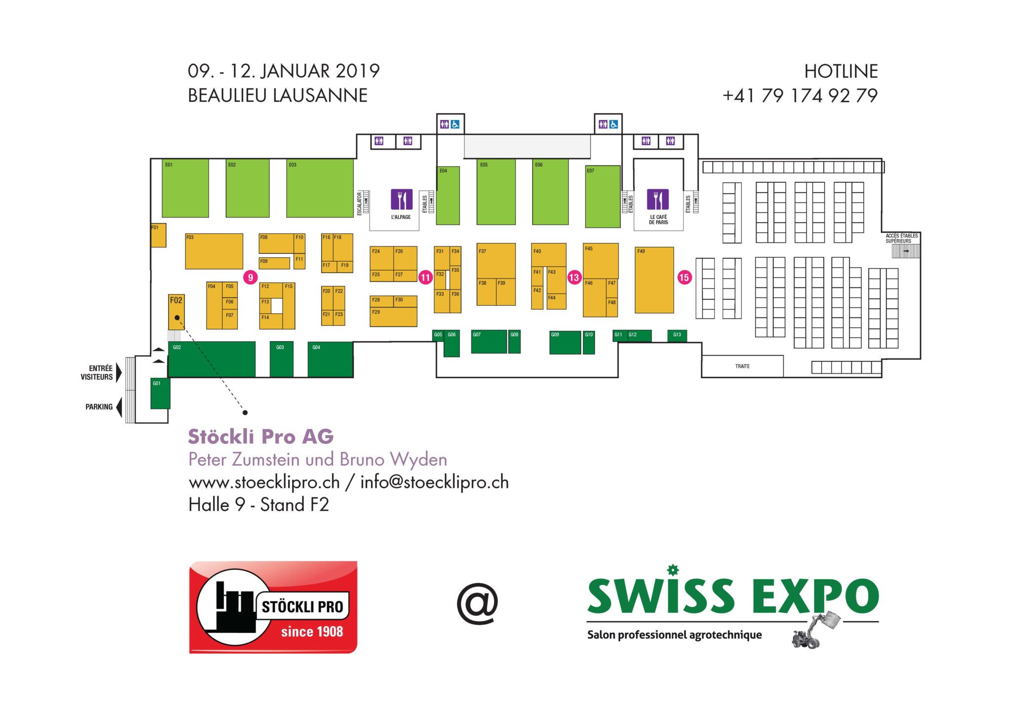 Plans Swiss Expo 2019